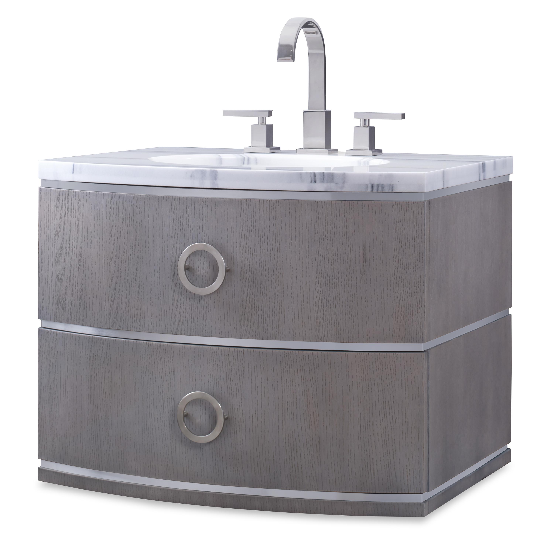 Cirque Wall Sink Chest   Grey