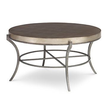Britton Cocktail Table - Mushroom Leaf