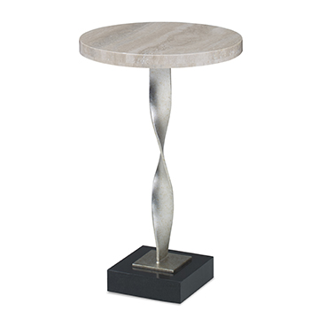 Twisted Accent Table