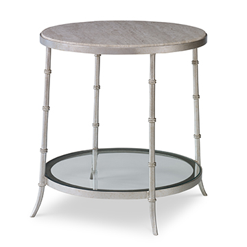 Sagano Round End Table