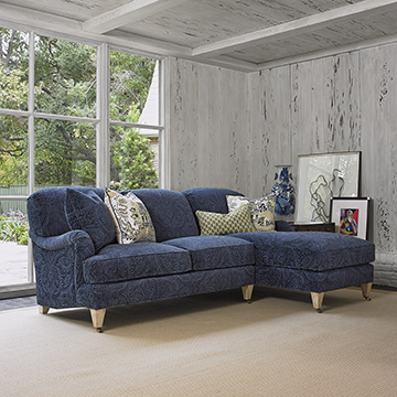 London Sectional - LAF Loveseat