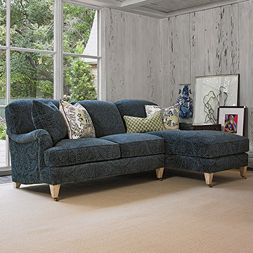 London Sectional - RAF Chaise