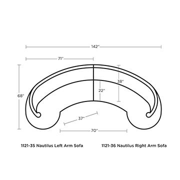 Nautilus Sectional
