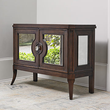 Regent Mirrored Side Cabinet