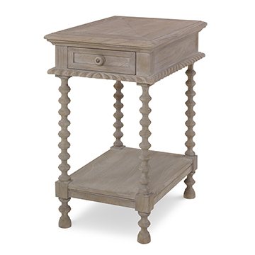 Castilian Accent Table - Grey