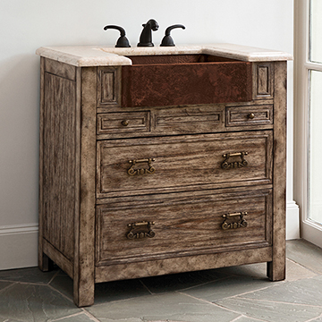 Bedford Ridge Sink Chest - Vintage Finis