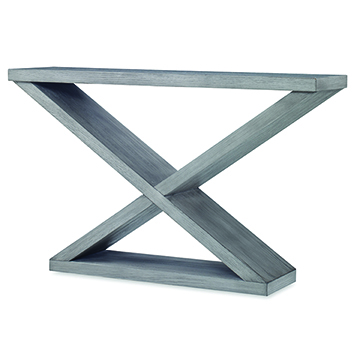 Salone Double-V Console - Ash Grey