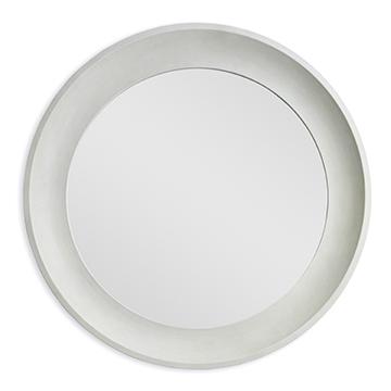 Shagreen Round Mirror
