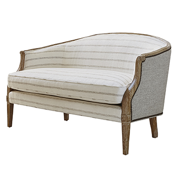 Regent Loveseat - Oak