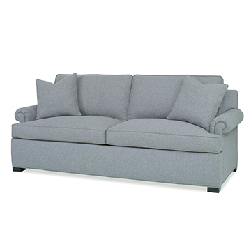Sleep Sofa - Panel Roll Arm - Queen
