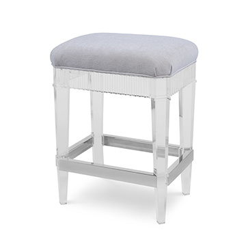 Fluted Counter Stool