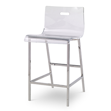 Illusion Acrylic Counter Stool