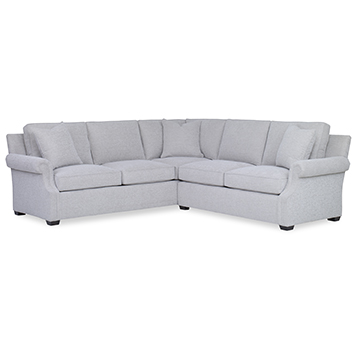 Custom Value Sloped Roll Arm-Sectional