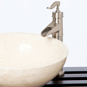 Stafford Vessel Faucet - Brushed Nickel