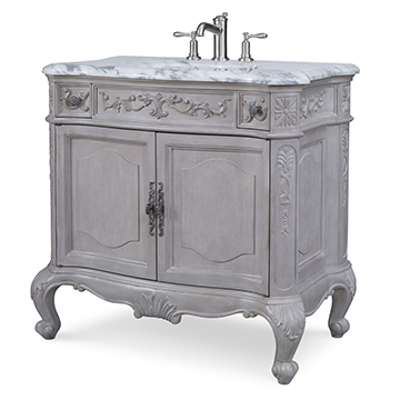 Private Retreat Sink Chest - Grey