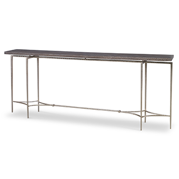 Double Diamond Console Table - Large