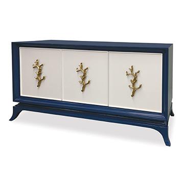 Cordelia Multi-Use Cabinet - Cadet Blue