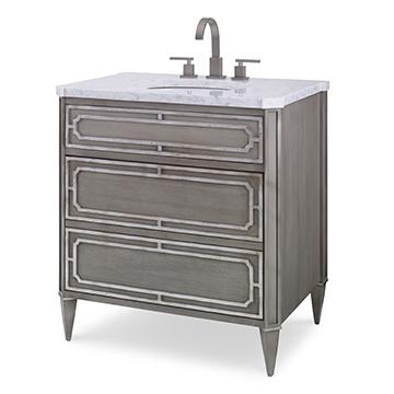 Emperor Medium Sink Chest - Ash Grey