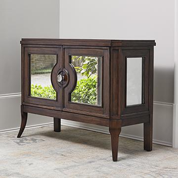Regent Mirrored Side Cabinet