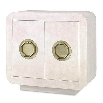 Shagreen Two Door Cabinet