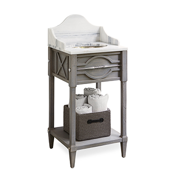 Spindle Sink Chest (Mini) - Weathered Gr