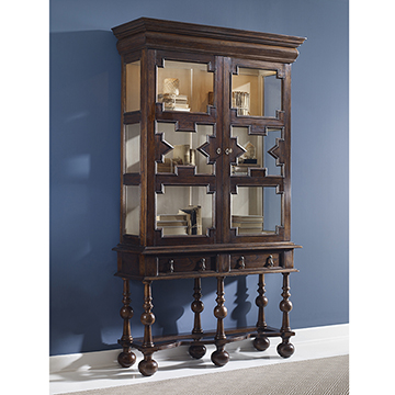 William & Mary Tall Cabinet
