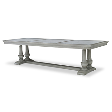 "Harvest Dining Table (120"") - Ash Grey"