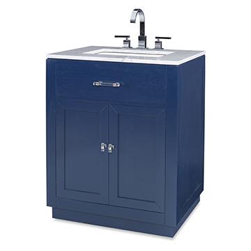 Hutton Petite Sink Chest - Cadet Blue