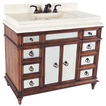 Salone Sink Chest - Honey