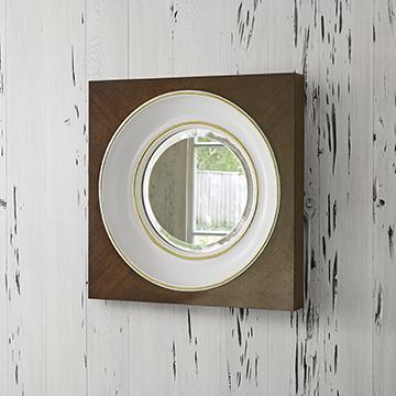 Federal Mirror - Walnut (Small)