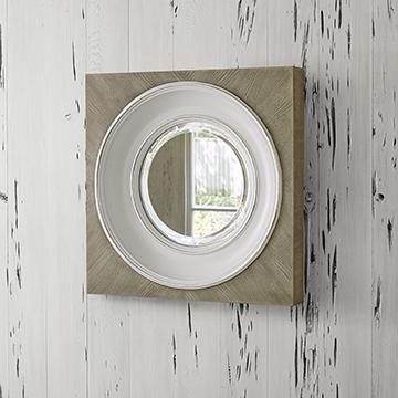 Federal Mirror - Grey (Small)