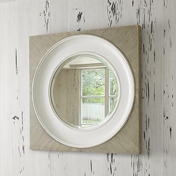 Federal Mirror - Grey (Large)
