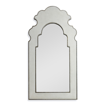 Shagreen Arched Mirror