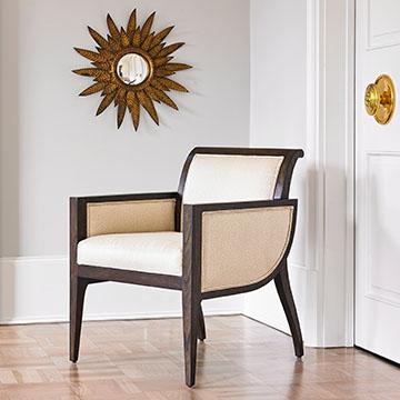 Aerodynamic Chair - Ivory Upholstery